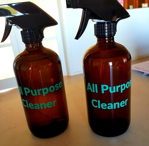 Weeded label transferred to spray bottles in the post what is weeding
