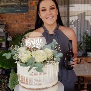Wedding cake topper for post wedding favor ideas