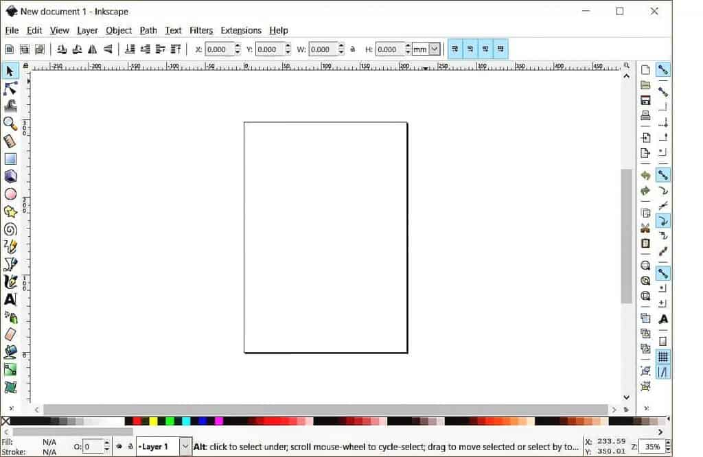Inkscape software program