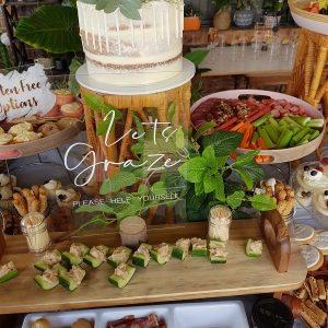 Lets graze for post wedding favor ideas