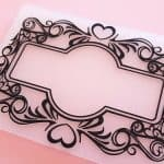 Embossing folder for Sizzix