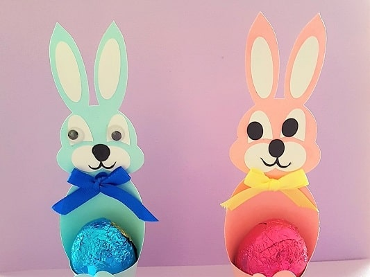 Another easy Easter idea using cardstock.