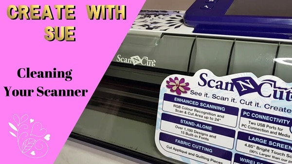 Main picture Scan N Cut cleaning scanner