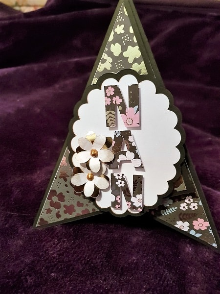 Creative ideas for Projects -Nan Thinking of You Card