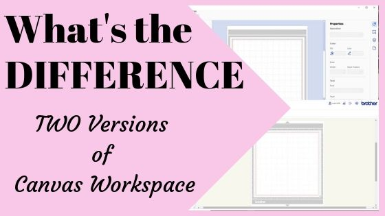 What is the difference between the online version and downloaded version of Canvas Workspace
