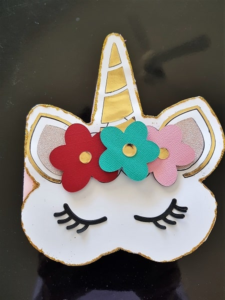 Creative ideas for Projects - Unicorn Card