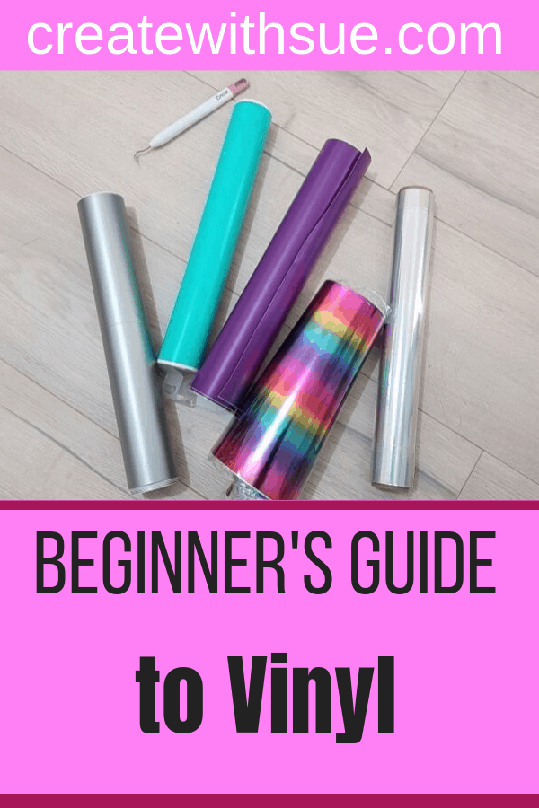 Beginners guide to working with vinyl pinterest pin 2