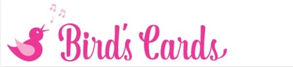 Logo for Birds Cards free SVG website