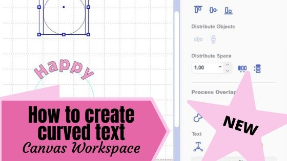 How to create curved text in Canvas Workspace Main Pic