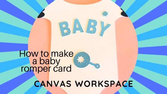 How to make a baby romper card main picture