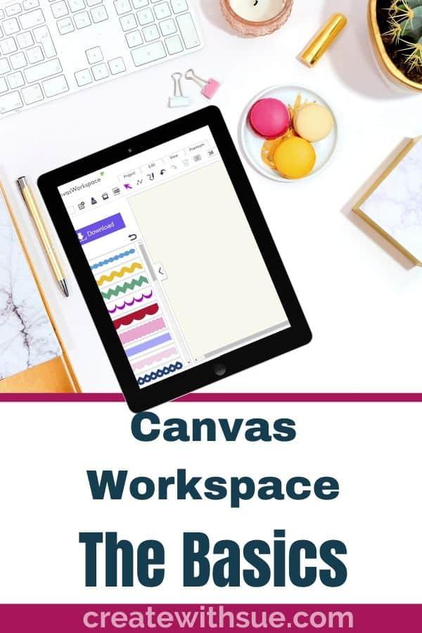 Canvas Workspace the basics pinterest pin