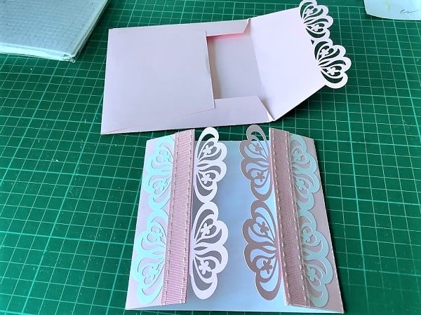 Laser card made by one of our facebook crafters