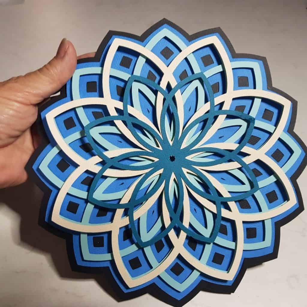 3D Mandala project finished