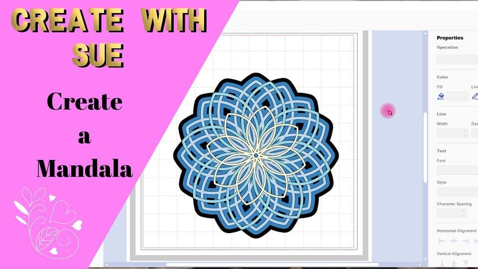 Create a 3D Mandala course available in Teachables