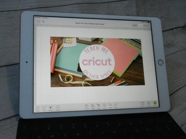 Learn how to use your Cricut with an iPad