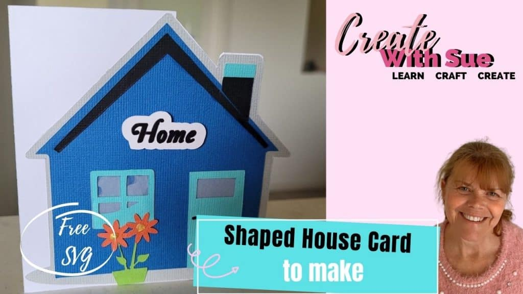 Main pic for the Shaped House Card to make